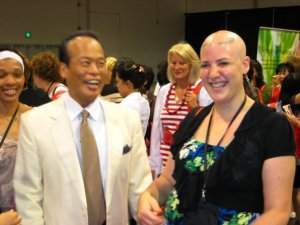 Dr. Chen and me.