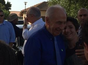 Israeli President, Shimon Peres