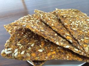 butternut squash, sunflower seeds, flax seeds, oregano, Himalayan Pink Salt