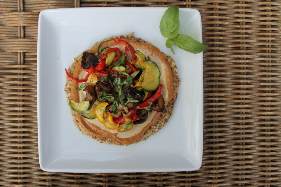 Raw Pizza - Recipe to come with cookbook!